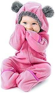 Cuddle Club Macacão de lã para bebês para recém-nascidos a 5T – Pijama infantil Jaqueta de inverno Casaco Agas