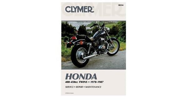 amazon com clymer honda cb cm400 450 cmx450 1978 1987 m334 prod rh amazon com