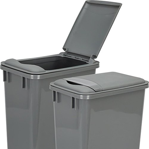 Hardware Resources CAN-35LIDGRY Plastic Waste Container Lid, ()