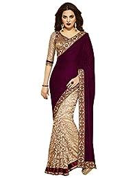 csebazaar Women Indian Pakistani Bollywood Designer Wedding Party Wear Saree Sari
