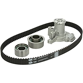 Amazon evergreen tbk284wpt hyundai elantra kia sportage gates tckwp284 engine timing belt kit with water pump sciox Images