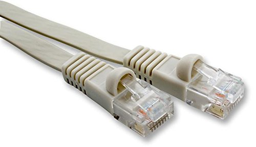Lead Flat CAT6 UTP Beige 1.5M Cable Length Metric 1.5m Connector Typ Imperial 4.9ft Cable Length