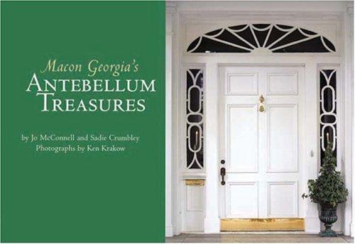Macon Georgia's Antebellum Treasures Postcard Book by Jo McConnell - Macon Georgia Shopping