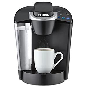 Keurig K55 Single Serve Programmable K-Cup Pod Coffee Maker, Black 41YLnc7ScDL