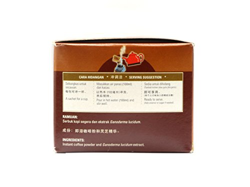 20 Boxes of Gano Café Classic Coffee 30 sachets/box, Instant Black Coffee Enriched with Ganoderma Lucidum Extract by Gano Café (Image #2)