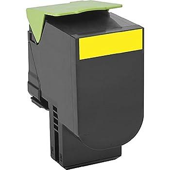 Genuine Lexmark 80C0H40 800H4 Yellow High Yield Toner Cartridge CX410 CX510 OEM