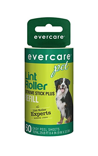 Evercare Pet Hair Extra Sticky 60 Layer Lint Roller Refill, Pack of (Pet Refill)