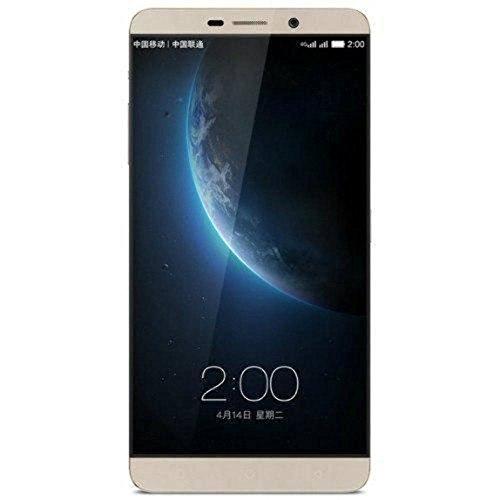 Letv Le Max X900+ 6.33 Inch Android 5.0 Smartphone, Qualcomm Snapdragon810 Octa Core, 4GB RAM + 128GB ROM GSM & WCDMA & FDD-LTE (Gold) (gold)