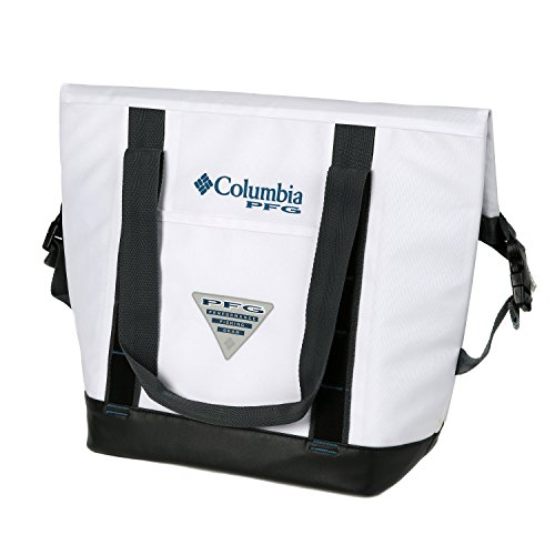 Roll Columbia - Columbia PFG 20 Can Permit Convertible Roll-Top Thermal Tote, White