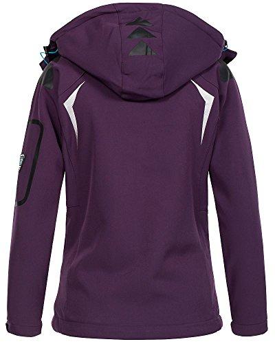 Norway Femme Blouson Purple Geographical Turquoise fxFwqdOFP