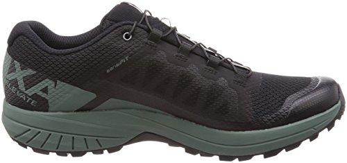 Salomon Uomini Xa Elevare Scarpe Da Trail Running, Verde, 49,3 Eu Nero (nero / Balsamo Verde / Nero 000)