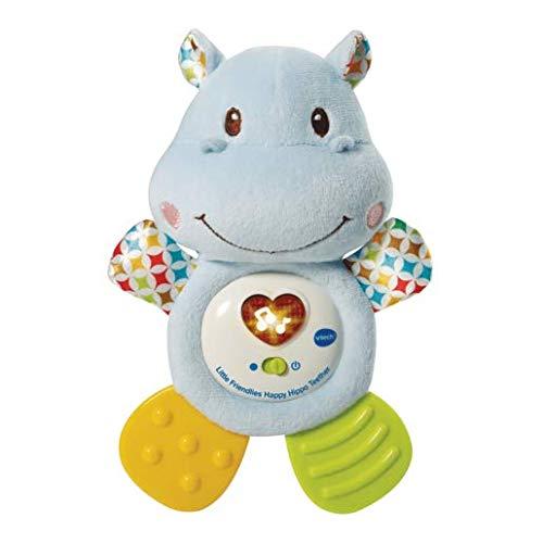 VTech 1/276/357,6/cm Little Clignote Happy Hippo Anneau de Dentition Jouet