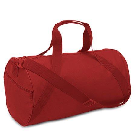 Liberty Bags Barrel Duffel OS RED