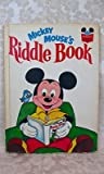 Mickey Mouse Riddle Book, Disney Book Club Staff, 0394825217