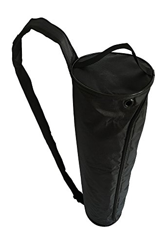 Clever Yoga Yoga Mat Carrying Bag Large Waterproof Yoga Bag Fits Most Size Mats Carry Exercise, Pilates or Yoga Mat Adjustable Sling Strap from