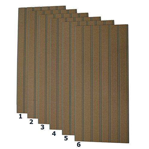 Better Beadboard - 6 Pack Kit of Panels 1/2