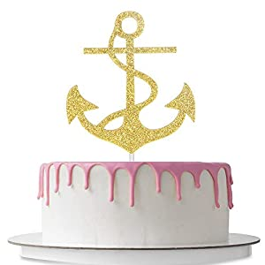 41YLtOcSfPL._SS300_ Beach Wedding Cake Toppers & Nautical Cake Toppers