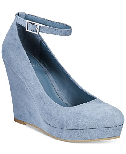 Material Flicka Vivie Wedge Pumpar