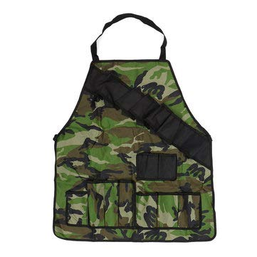 - Outdoor BBQ Barbecue Cooking Waterproof Aprons With Beer Can Opener Belt Camping Picnic - Outdoor Picnic & BBQ Tableware & Hardware - (Army Green) - 1 x Barbecue Apron