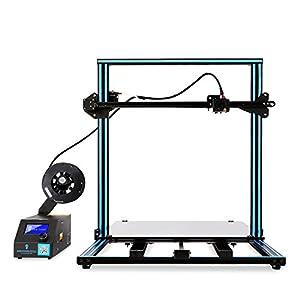 "SainSmart x Creality ""CR-10 Plus"" Semi-Assembled 3D Printer, Dual-Z Motors, Massive Print Size 19.68"" x 19.68"" x 19.68"" from SainSmart"