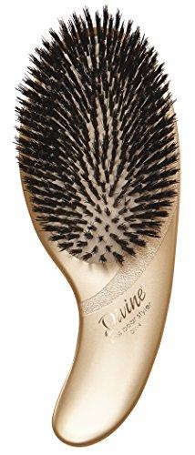 Olivia Garden Divine Revolutionary Ergonomic Design Hair Brush DV-4 (100% Boar Styler) ()