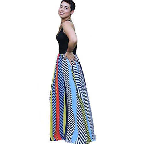 Bekleidung Longra Neue böhmische Damen Strandkleid Sommerkleid ...
