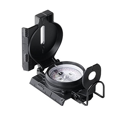 Cammenga S.W.A.T.Black Tritium Lensatic Compass, Vertical Black ()