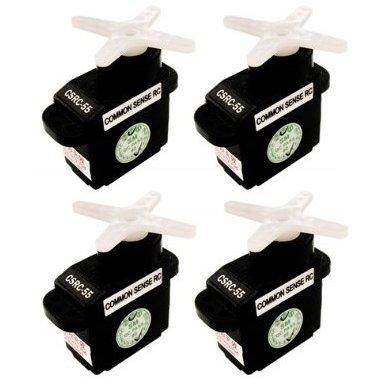- Common Sense RC of CSRC-55 Standard Feather Servo