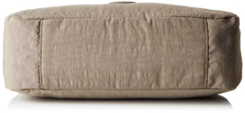 Kipling Sevrine, Borse a Tracolla Donna, Grigio (828 Warm Grey), 22.5 x 32 x 11.5 cm