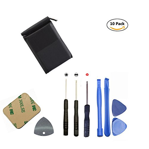 oGoDeal Battery Repair Kit Replacement for Apple Watch Series 2 42mm All Models A1758 and A1817 with Repair Tool Set (Replacement 2 Batteries Kit)