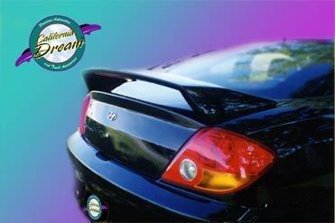 California Dream Compatible with: 2003 2004 2005 2006 2007 2008 Hyundai Tiburon Factory Style Spoiler (Unpainted)
