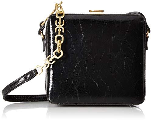 - Sam Edelman Alice Cube Shoudler Bag, Black