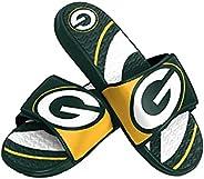 NFL Green Bay Packers Mens Sport Shower Gel Slide Flip Flop SandalsSport Shower Gel Slide Flip Flop Sandals, C