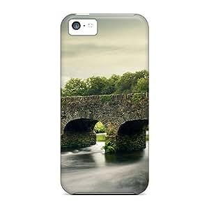 Bernardrmop Slim Fit Protector XXbICfD4470JQSyw Shock Absorbent Bumper Case For Iphone 5c