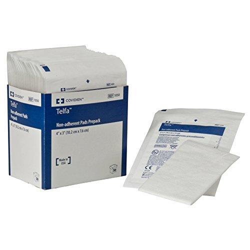 - Covidien 1050 Telfa Non-Adherent Pads Prepack, 4