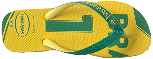 Pictures of Havaianas Teams Iii-Brazil Sandal Yellow/Green 9.5 M US 2