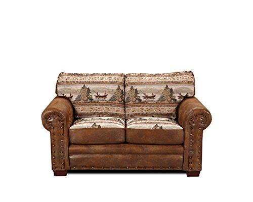 American Furniture Classics Alpine Lodge Love Seat Review