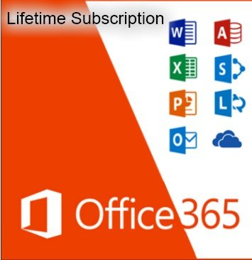 Microsoft Office 365 Home Lifetime Subscription (5) Users Windows/Mac (LIMITED SPECIAL!) with Complete Instructions!