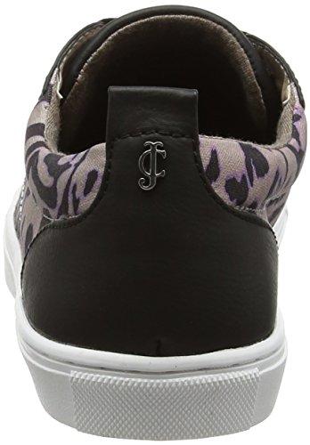 Juicy Couture Lushhus - Zapatillas Bajas para Mujer Multicolour (Imperial Leopard)