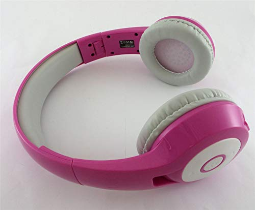 Vivitar Bluetooth Wireless Stereo Headphones with Mic Pink BH-C26-WHT