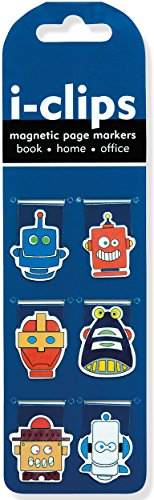 Robots i-Clips Magnetic Page Clips
