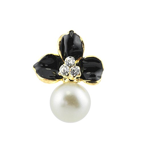 Boucles d'oreilles clou et puce - Bijou fantaisie vintage - Fleur - Blanc - Magali - Cadeau Femme pas cher - Mes Bijoux Bracelets