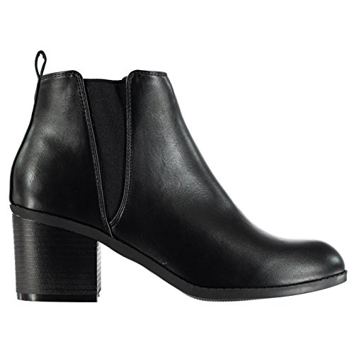 Boots Miso Ankle Mojito Heeled Chelsea Black On Pull Womens rTZTwqnxt