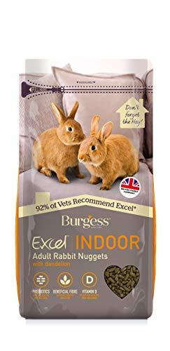 Excel Burgess Indoor Rabbit Nuggets, 1.5 kg X 4