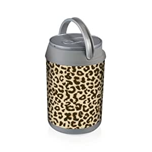 Picnic Time Insulated 'Can Cooler', Cheetah Print