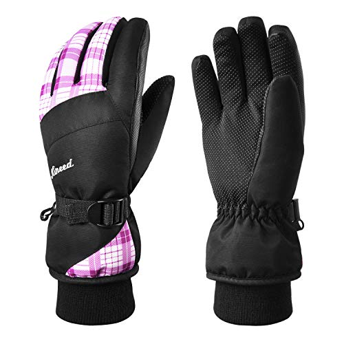 KINEED Waterproof Ski Gloves