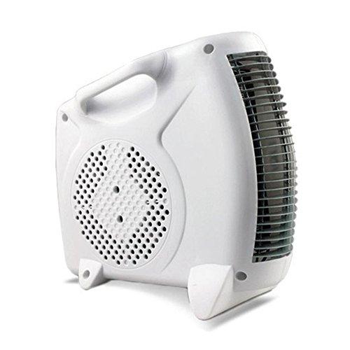 Osierr6 Mini calentador, 220 V 500 W 4.72 pulgadas aire acondicionado ventilador calentador pequeño ventilador de...