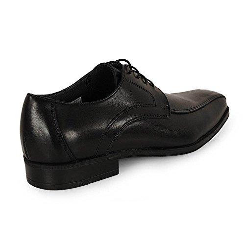 Wisconsin , Chaussures de ville à lacets pour homme noir noir