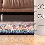 """nuLOOM Meadow Vintage Vibrant Area Rug, 5' 3"""" x"""