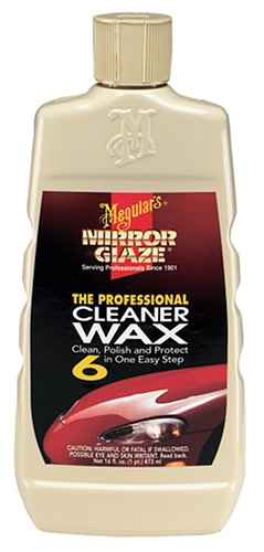 Meguiars M0616 Mirror Glaze Cleaner Wax, 16 oz